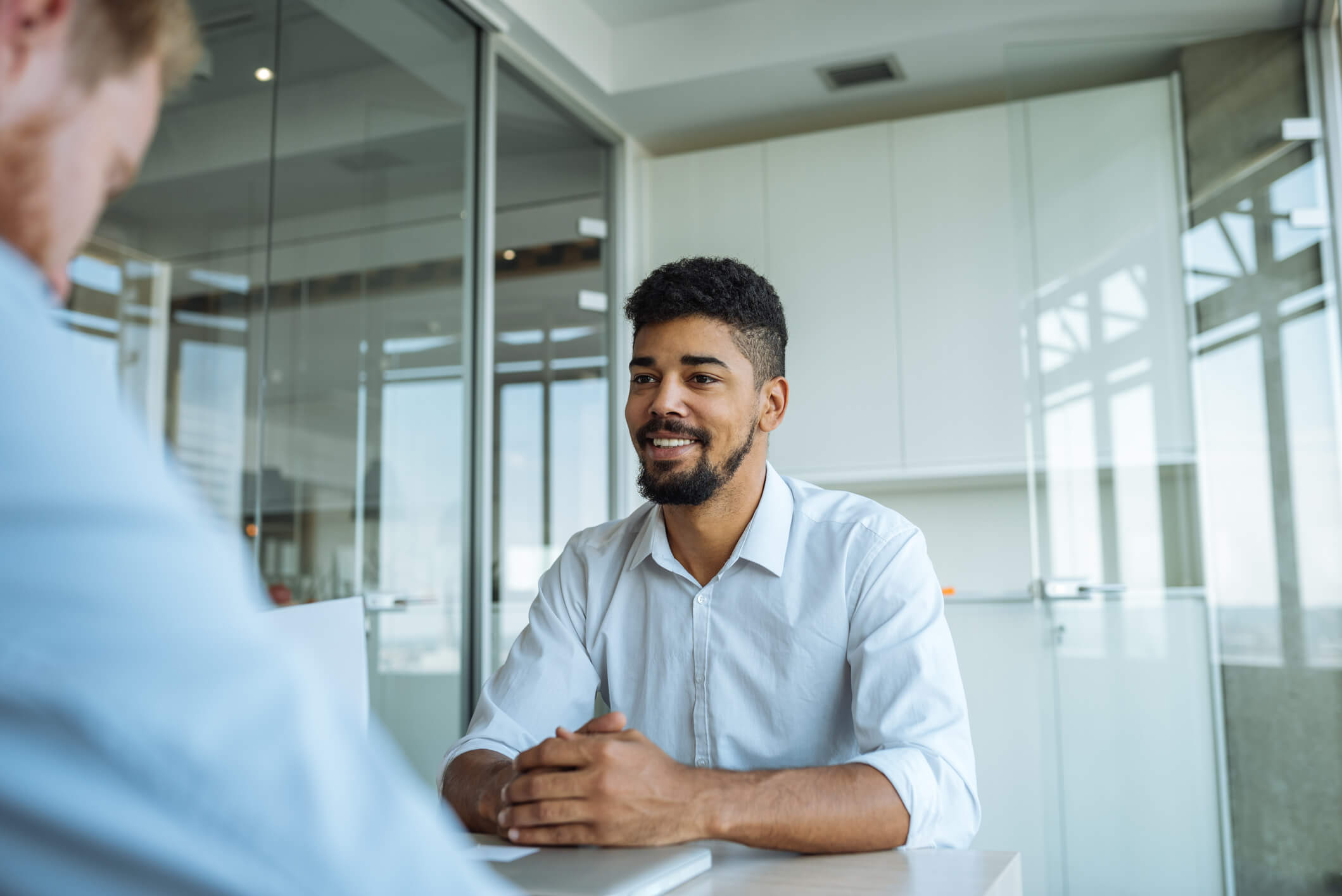 how to ask about second interview