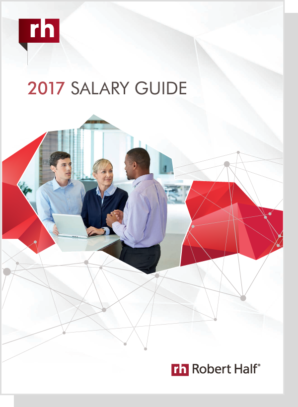 robert half salary guide 2017