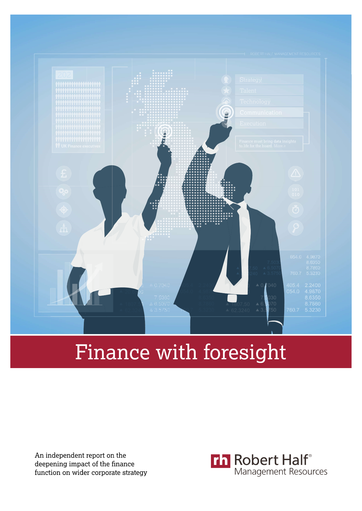 Finance with foresight
