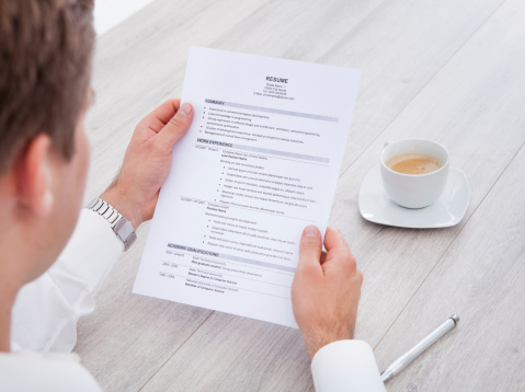 what to look for in a cv