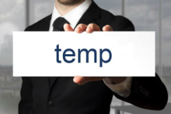 Referencing temp work on your CV