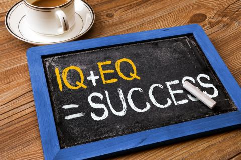 EQ + IQ = success