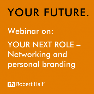 Networking and personal branding webinar