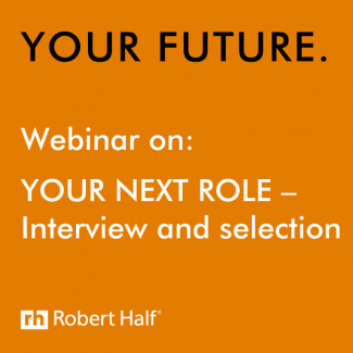 Interview and selection webinar